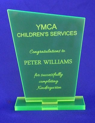 pt gifts and awards personalised acrylic award kindergarten graduation