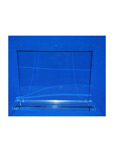 PERSONALISED GLASS RECTANGLE AWARD ON BASE
