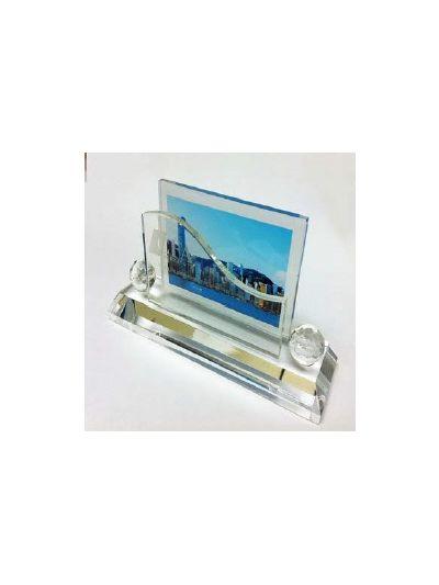 Personalised Crystal Desktop Gift