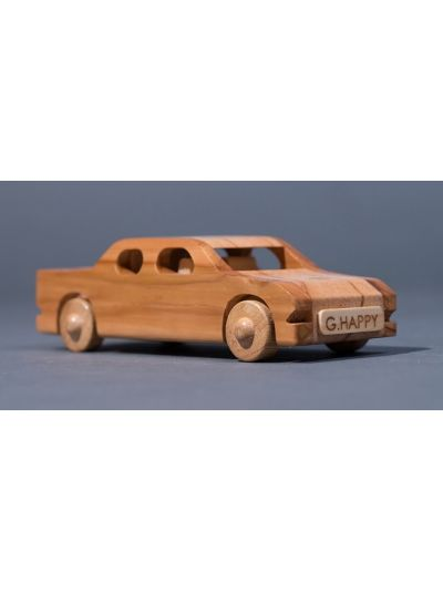 Wooden Pick up truck - Eco Friendly, Unpainted, Clear Coated Wooden Craft