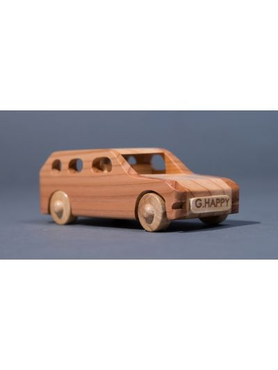 Wooden Car SUV - Eco Friendly, Unpainted, Clear Coated Wooden Craft