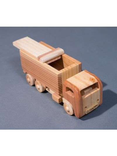 Wooden Truck - Eco Friendly, Unpainted, Clear Coated Wooden Craft